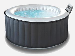 Silver Cloud hot tub