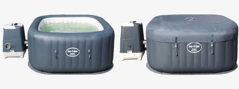hawaii hydro jet pro hot tub with and with out lid and remote control