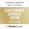 Provern Exprt Customer choice award