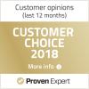 Provern Exprt Customer choice award