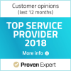 Provern expert top service award