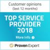 Provern expert top service award